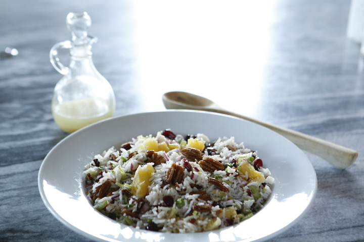 cranberry pecan rice salad recipe